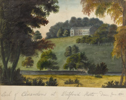View of Grove Park, the seat of Thomas Villiars, Earl of Clarendon, near Watford